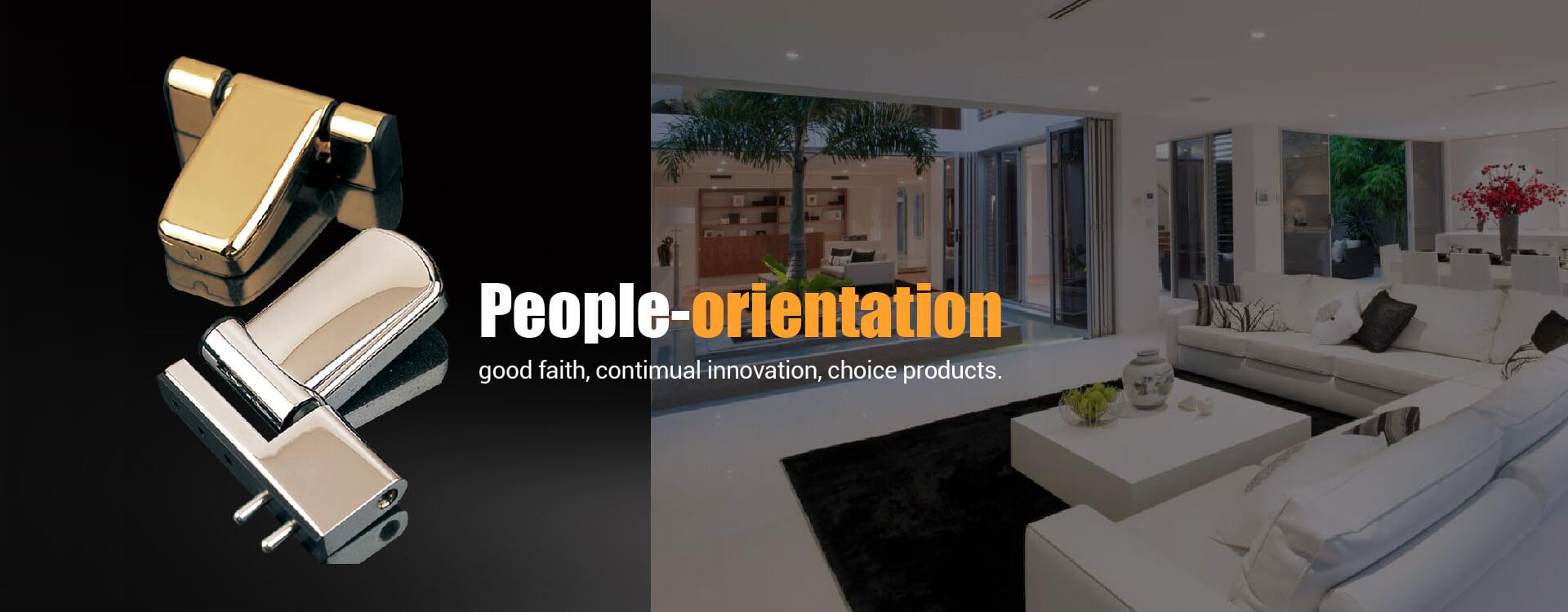 Orientation des personnes, bonne foi, innovation continue, produits de choix